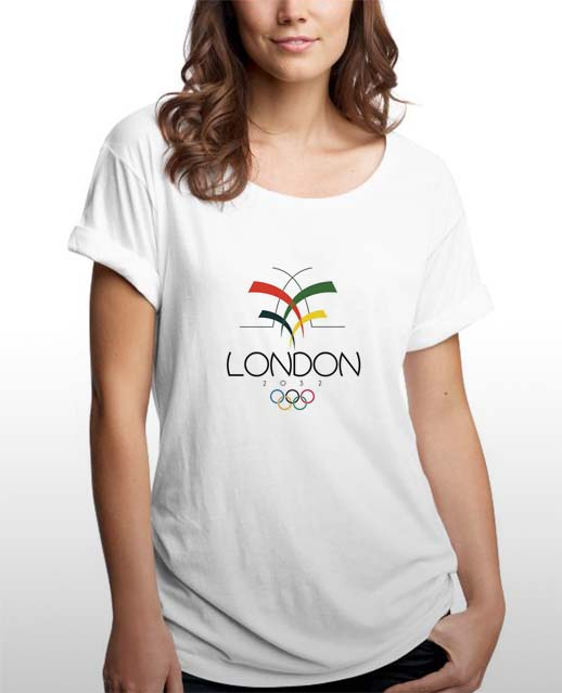 Alternative Logo design for 2012 London Olympics. The icon within this design is an interpretation of the Gherkin building in London and the excitement of Olympics.
