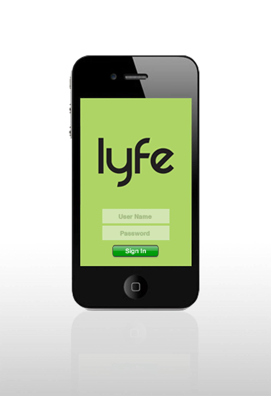 Logo and UI design for Lyfe mobile application. This application helps smartphone users find patterns in their daily life. Knowing such patterns can help individuals choose healthier options.